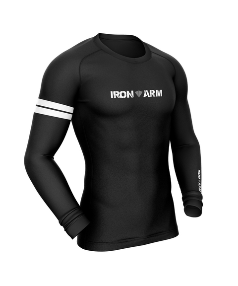 Rash Guard Preta IronArm na internet