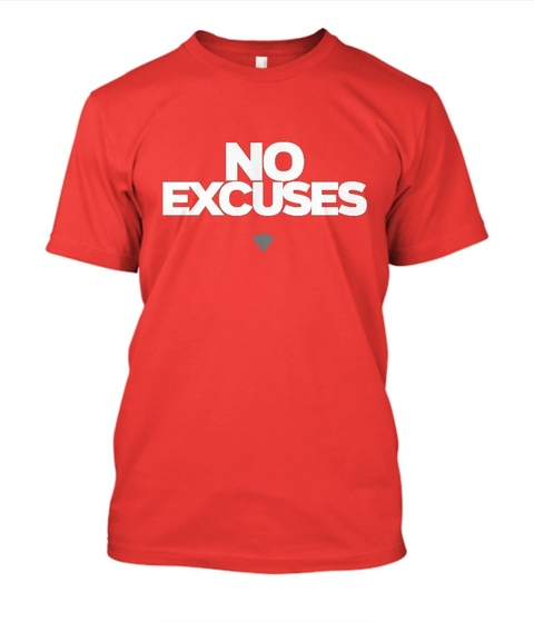 Camisa No Excuses
