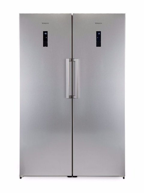 Heladera y Freezer Vondom Side by Side Linea Platinum