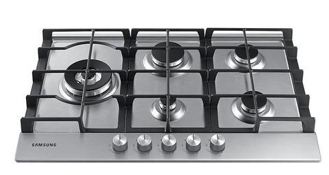 ANAFE SAMSUNG 75 CM A GAS NA75J3030AS - cocinasonline