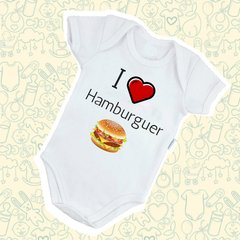 Body I Love Hamburguer