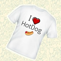 I love hot dog