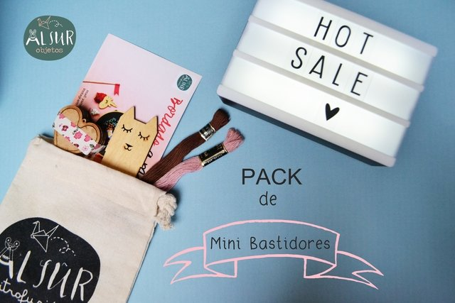PACK DE MINI BASTIDORES!