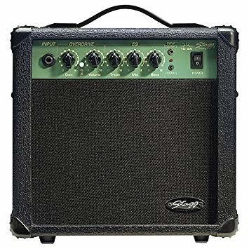 AMPLIFICADOR 10 WATTS - STAGG - DISTORSIÓN