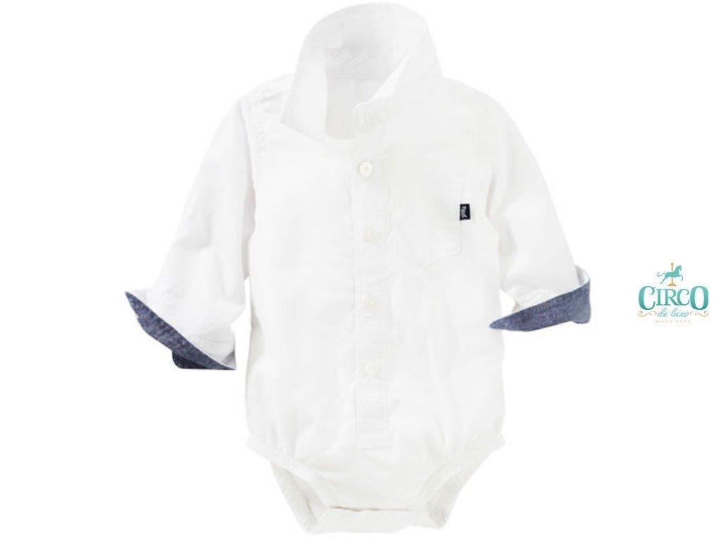 35879d6be26de Camisa body de bebê