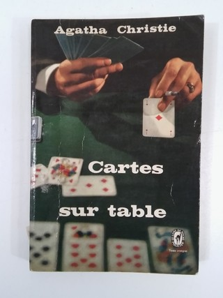 CARTES SUR TABLE, AGATHA CHRISTIE (EN FRANCÉS) (USADO)