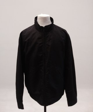 CAMPERA HOMBRE KENNETH COLE REACTION NEGRA TALLE XL (USADO)
