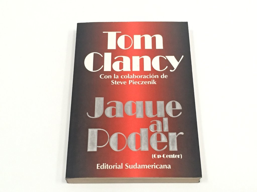 JAQUE AL PODER, TOM CLANCY (USADO)
