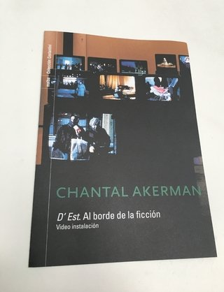 FOLLETO MUESTRA DEST CHANTAL AKERMAN MALBA 2005 (USADO)