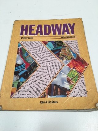 HEADWAY STUDENTS BOOK PRE-INTERMEDIATE, JOHN Y LIZ SOARS (USADO)