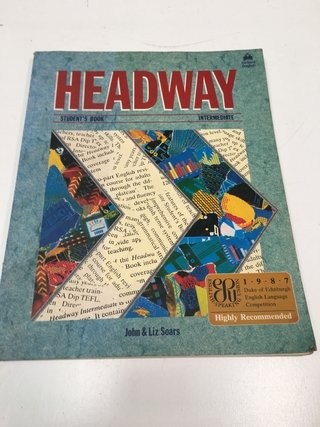 HEADWAY STUDENTS BOOK INTERMEDIATE, JOHN Y LIZ SOARS (USADO)