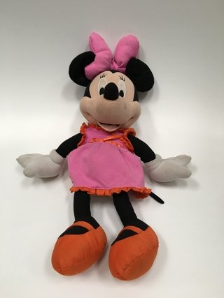 MUÑECO MINNIE MOUSE GRANDE DE TELA FISHER PRICE 67CM (USADO)