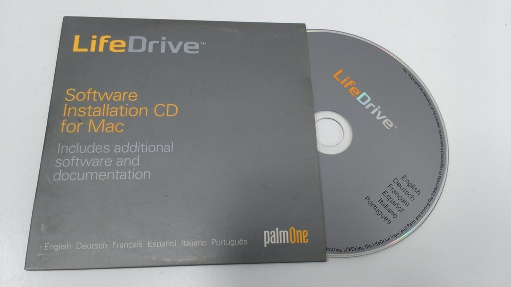 CD DISCO DE INSTALACIÓN MAC ORIGINAL PALM LIFEDRIVE (USADO)