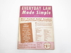 EVERYDAY LAW - MADE SIMPLE, JACK LAST (USADO)