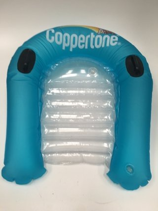 BARRENADOR FLOTADOR INFLABLE CON MANIJAS COPPERTONE (USADO)