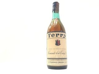 ANTIGUA BOTELLA LLENA BRANDY TERRY