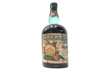 BOTELLA LLENA ANTIGUO LICOR LAGORIO