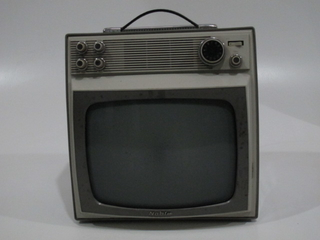ANTIGUO TELEVISOR PORTÁTIL NOBLEX IDEAL PARA DECORACIÓN (USADO)
