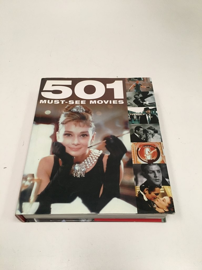 501 MUST-SEE MOVIES, BOUNTY BOOKS (EN INGLÉS) (USADO)