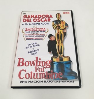 BOWLING FOR COLUMBINE MICHAEL MOORE DVD ORIGINAL (USADO)