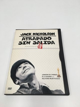 ATRAPADO SIN SALIDA (ONE FLEW OVER THE CUCKOO'S NEST) DVD (USADO)