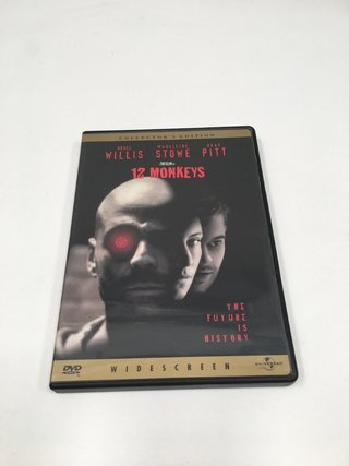 12 MONOS (12 MONKEYS) TERRY GILLIAM DVD ORIGINAL (USADO)