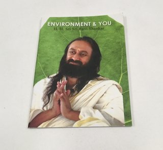 ENVIROMENT & YOU BY H. H. RAVI SHANKAR INGLÉS (USADO)