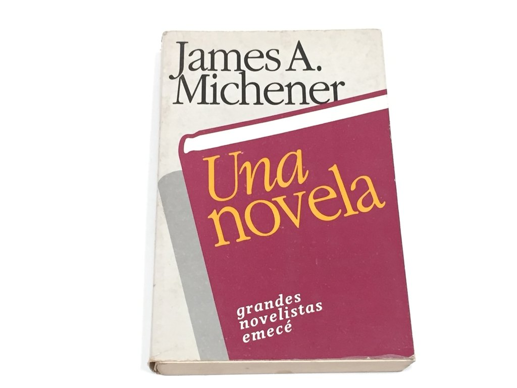 UNA NOVELA, JAMES A. MICHENER (USADO)