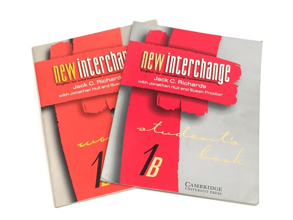 NEW INTERCHANGE 1B (STUDENT'S BOOK & WORKBOOK), JACK C. RICHARDS (USADO)