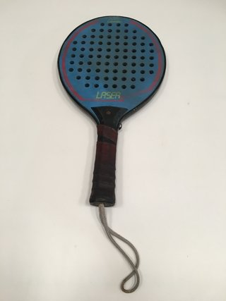 PALETA DE PADEL PADDLE CANNON LASER 15 MM GRIP ORIGINAL (USADO)