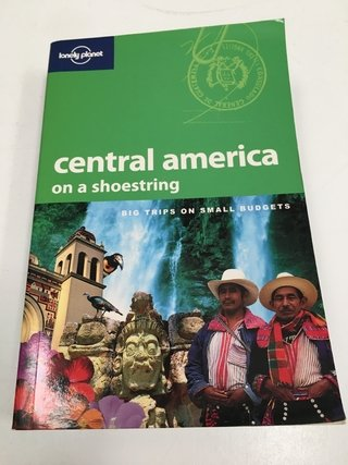 CENTRAL AMERICA ON A SHOESTRING, GUÍA INGLÉS LONELY PLANET (USADO)