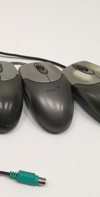 MOUSE ÓPTICO GENIUS NETSCROLL EYE GM-04003P PS2 GRIS (USADO)