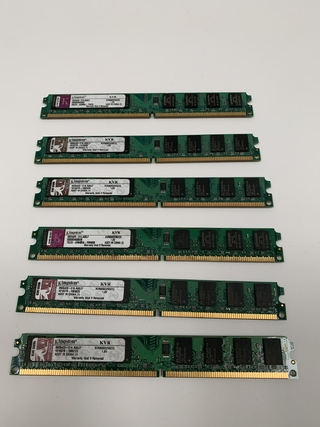 MEMORIA KINGSTON KVR800D2N5/2G 2GB DDR2 800MHZ 1.8V (313) (USADO)