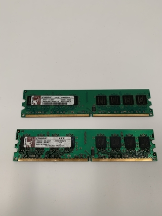 MEMORIA KINGSTON KVR667D2N5/1GB 1GB DDR2 667MHZ PC2-5300 (USADO)