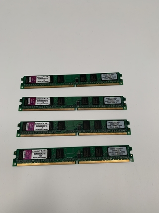 MEMORIA KINGSTON KVR400D2N3/1G 1GB DDR2 400MHZ 1.8V (USADO)