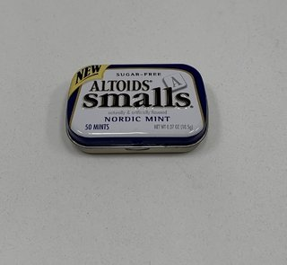 LATA VACÍA NEW ALTOIDS SMALLS NORDIC MINT SUGAR FREE (USADO)