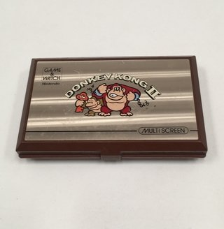 NINTENDO GAME WATCH MULTISCREEN DONKEY KONG II 1983 (6090) (USADO)