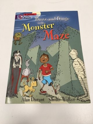 BUZZ AND BINGO IN THE MONSTER MAZE, COLLINS (EN INGLÉS) (USADO)