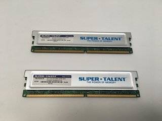 MEMORIA SUPER TALENT DDR2 1GB 800MHZ PC6400 CL5 (USADO)