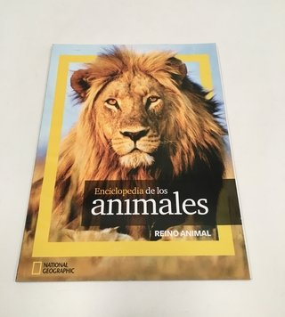 ENCICLOPEDIA DE LOS ANIMALES NATIONAL GEOGRAPHIC 2011 (USADO)