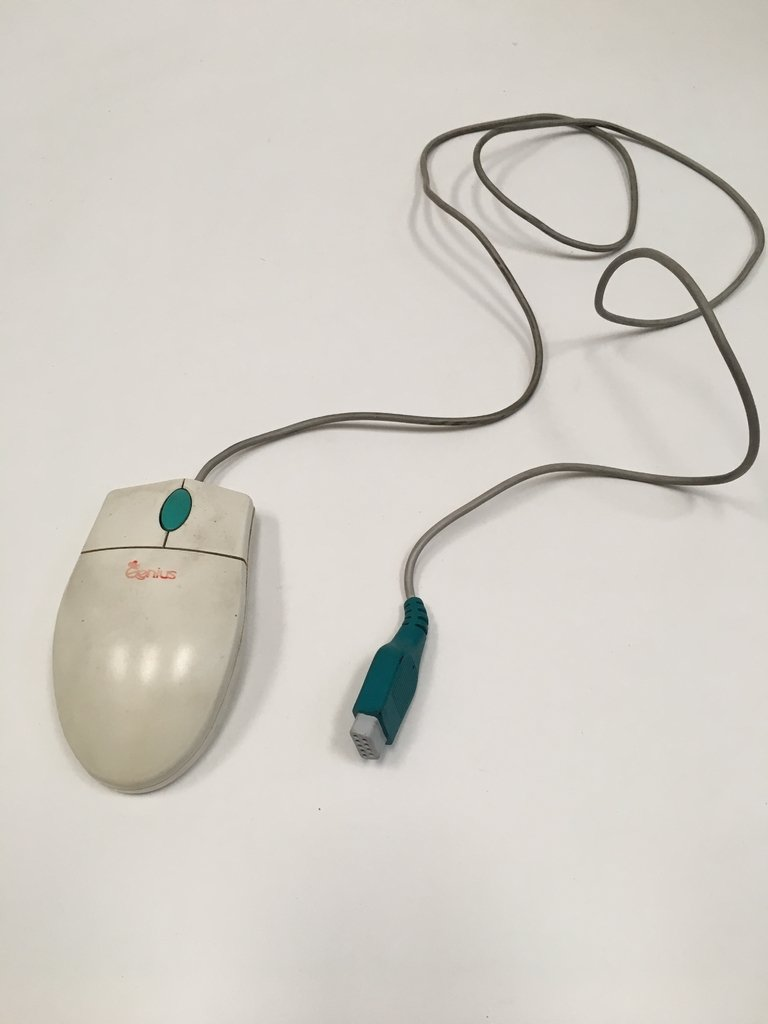 MOUSE VINTAGE GENIUS EASY MOUSE CONECTOR SERIAL 9PIN HEMBRA (USADO)
