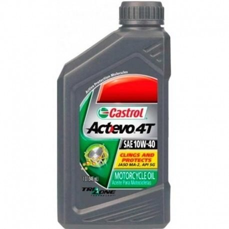 Aceite Castrol Actevo 4t Sae 10w40 Mineral Marelli Sports