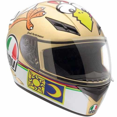 Casco Agv K3 The Chicken Vr46 Visor Transp Marellisports
