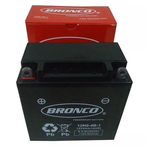 Bateria De Gel Bronco 12n9-4b-1 12 V 9 Ah Marelli Sports 37c2ba291a951