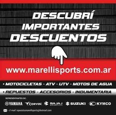 Antiparras 100% Racecraft Bootcamp Mx Atv Enduro Marelli en internet