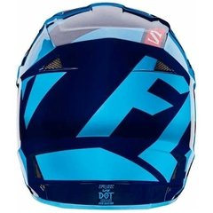 Casco Fox V1 Falcon Navy Azul Celeste Marelli Sports en internet