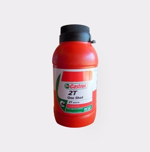 Aceite Castrol 2t One Shot Mineral Marelli Sports