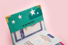 Imagen de Travel Kit New York (Porta pasaporte + Porta documentos)
