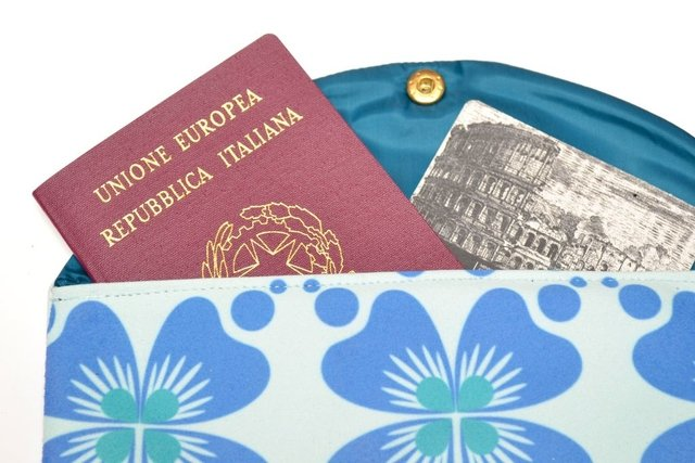 Porta documentos Italia - Turista Local