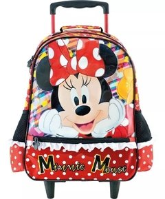Kit Escolar Infantil mochilete + lancheira + estojo - Minnie Mouse na internet